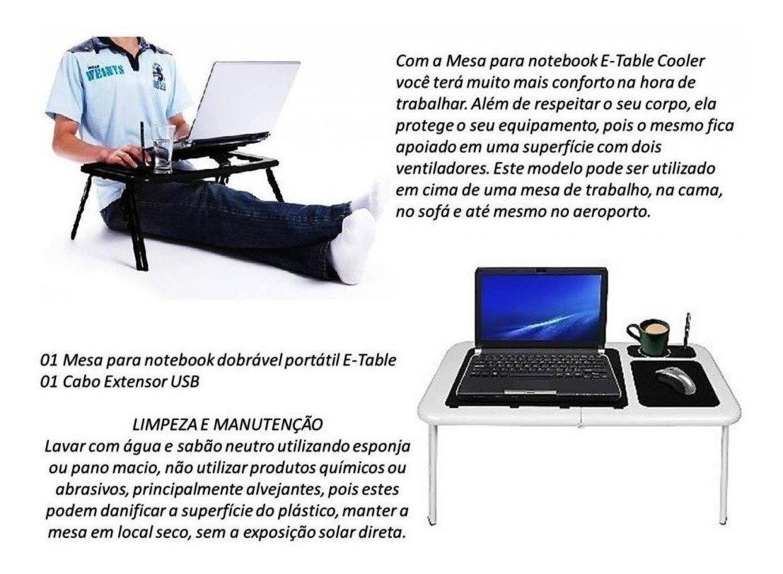 Suporte Mesa Dobravel Notebook Tablet