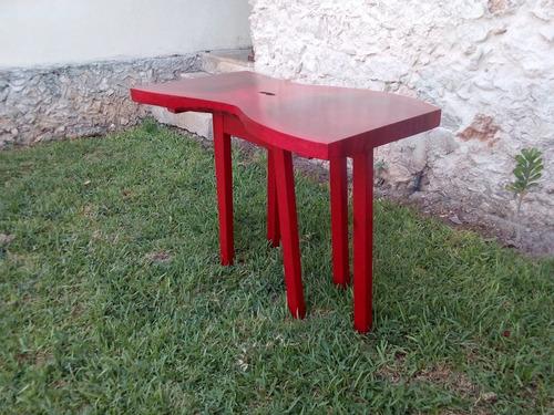 mesa nueva de parota