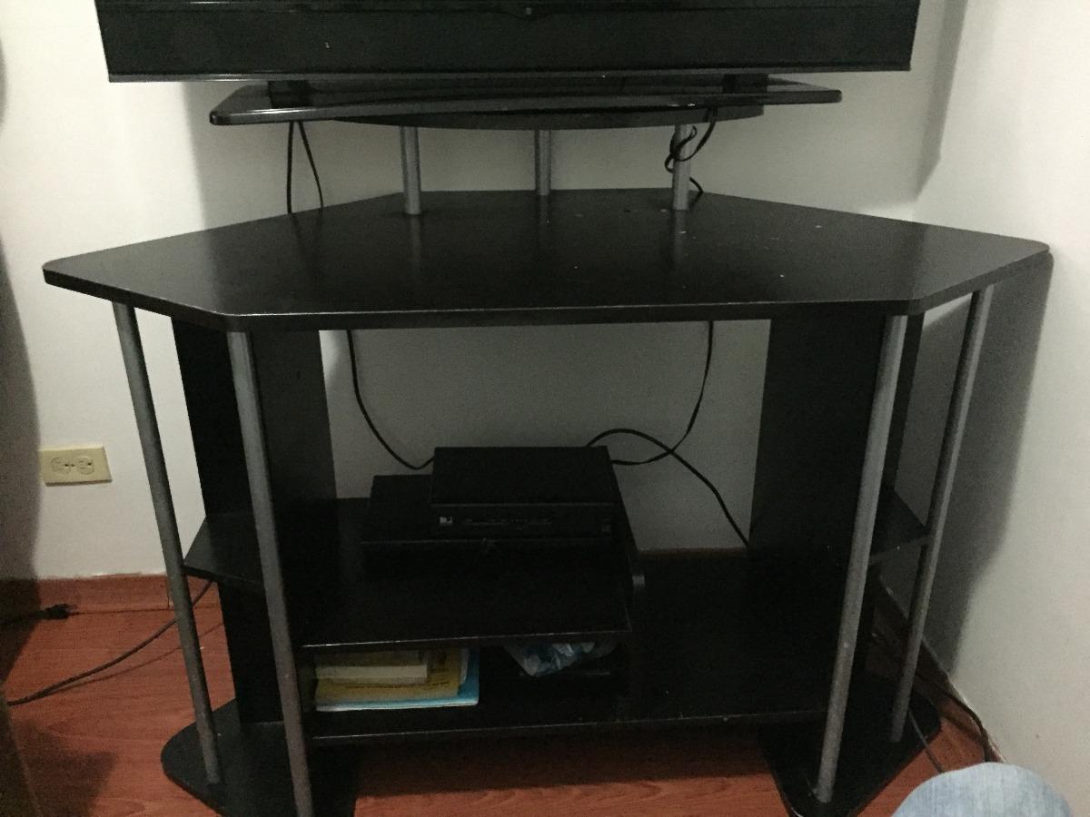 Mesa O Mueble Para Su Tv O Como Escritorio Negro Bs 750000000