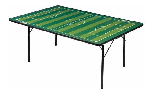 mesa oficial para futebol de botão com pés dobráveis
