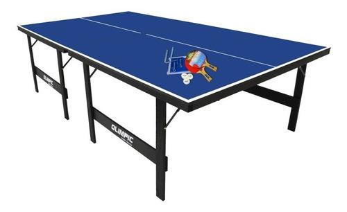 mesa oficial para tenis de mesa com kit completo