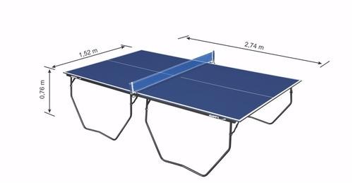 mesa oficial para tenis de mesa em mdf de 15 mm