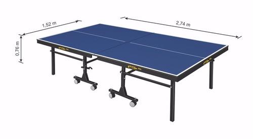 mesa oficial para tenis de mesa em mdf de 25 mm