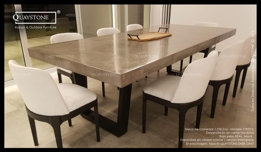 Mesa Oficina Diseño Comedor Moderna Quaystone - Silestone
