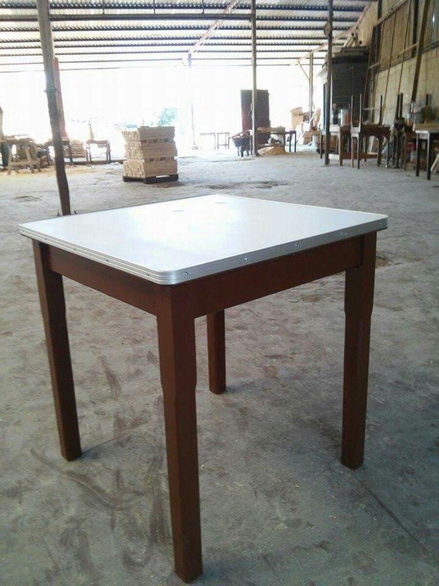Mesa original de madera restaurante bar cantina antro for Mesas de madera bar