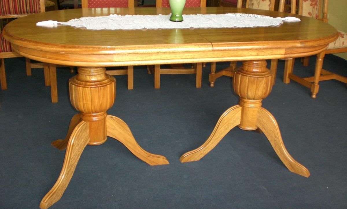 Mesas ovaladas mesas ovaladas mesas blanco fro blanco for Mesa comedor ovalada