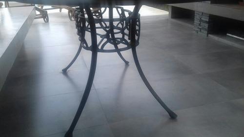 mesa ovalada de comedor