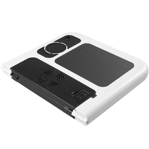mesa p/ notebook preta dobrável regulável e-table cooler usb