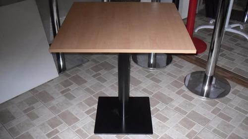 mesa para bar 60 x 60 base de hierro