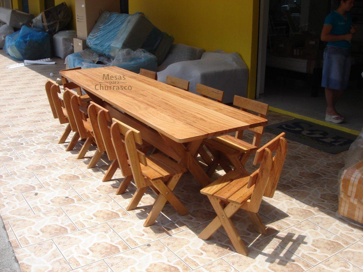 Mesa Para Churrasco Cadeiras / Churrasqueira   Frete Grátis! R$ 2  #A96622 1200x900