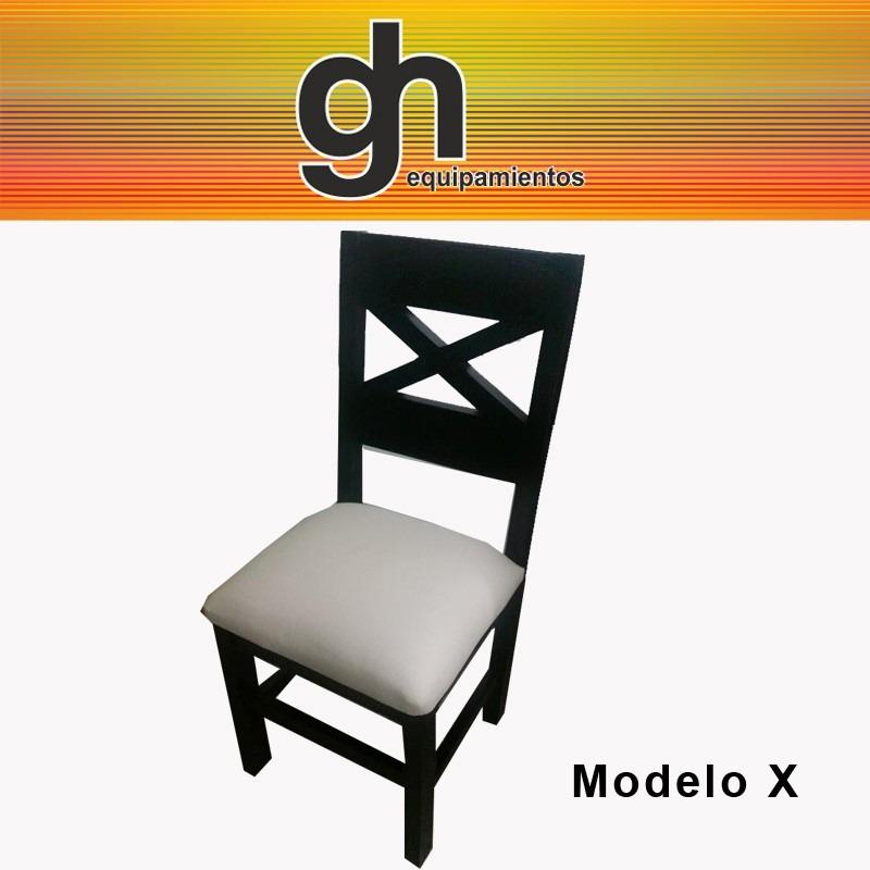 Mesa para comedor con 6 sillas tapizadas color a elecci n for Comedor con sillas de colores