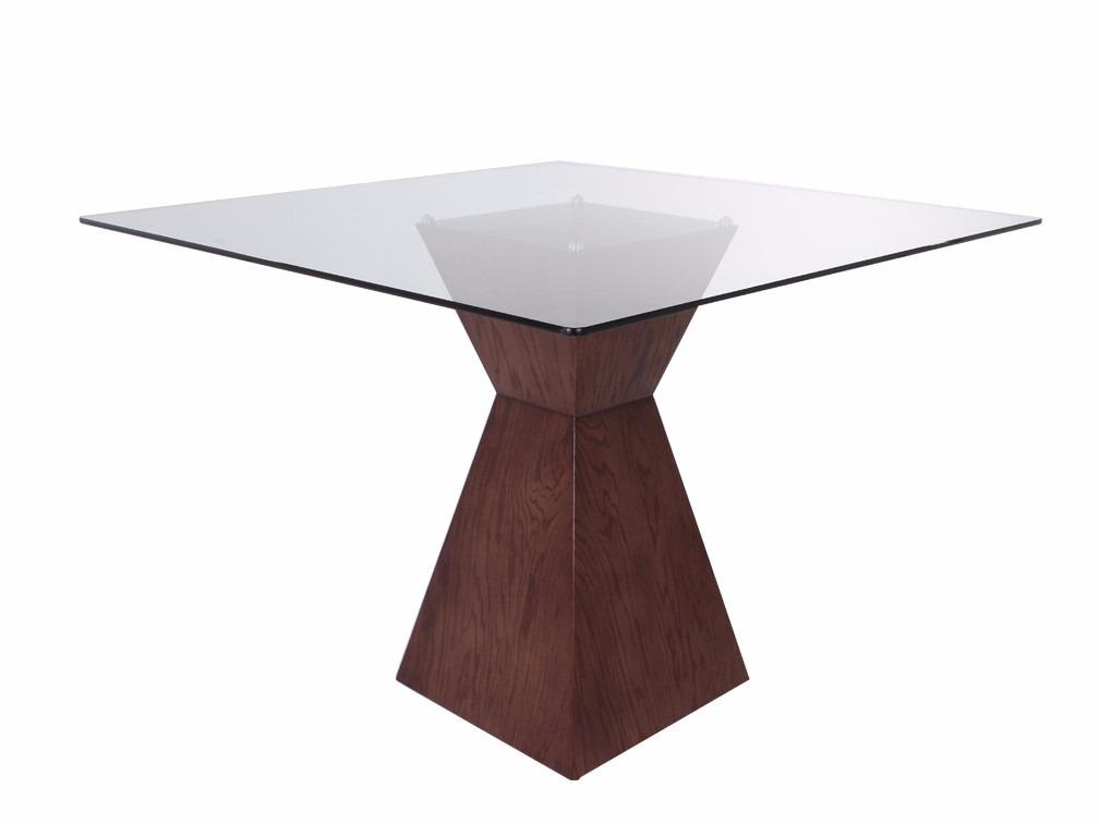 Mesa para comedor cuadrada kontempo trapeze 4 - Mesa cuadrada de comedor ...