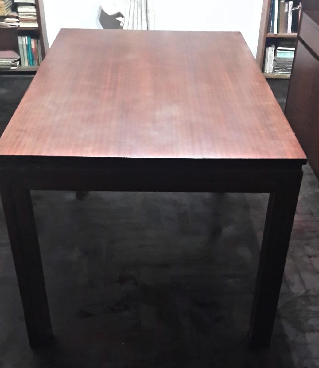 Mesa Para Comedor De Madera Extensible Color Cedro Usada - $ 1.500 ...