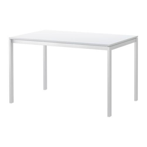 Mesa Para Comedor Ikea Melltorp Blanco