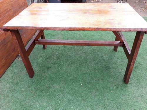mesa para comedor living en madera maciza leer descripción