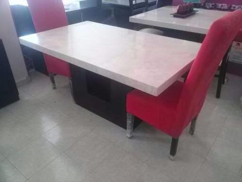 Mesa para comedor marmol beige 6 en mercado libre for Marmol beige precio