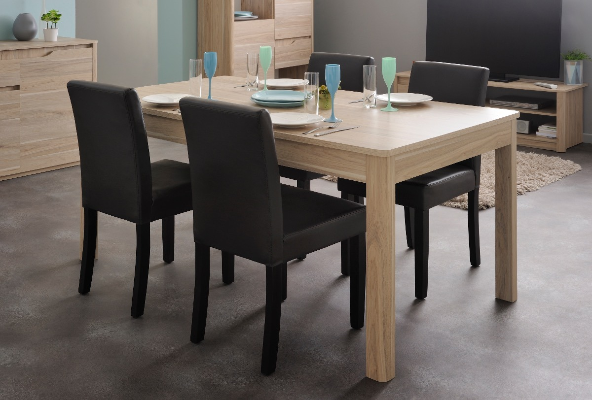 Mesa Para Comedor/sala, Modelo Wendy Color Roble Dakota - $ 3,789.00 ...