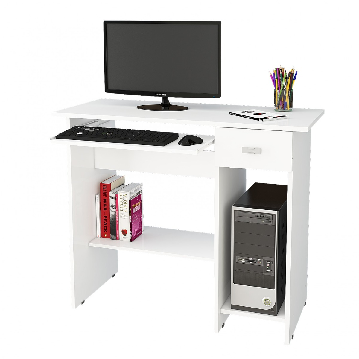 d2d81a678 mesa para computador alice permobili branco hd. Carregando zoom.