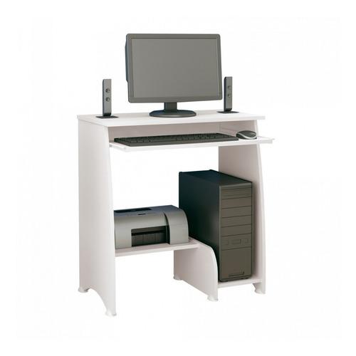 mesa para computador com 3 prateleiras pixel artely jf