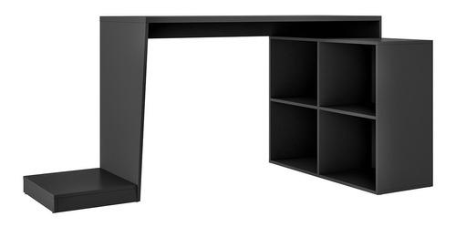 mesa para computador gamer 4 nichos bmg 03 - preto