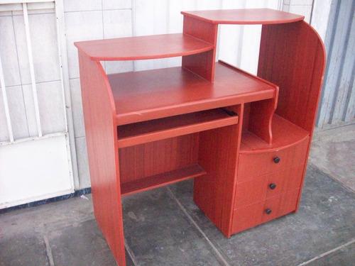 mesa para computadora 3 cajones
