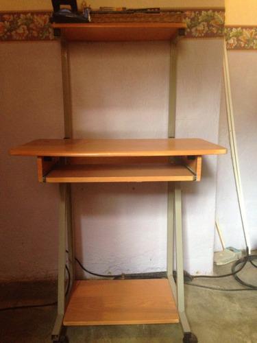 mesa para computadora 3 niveles