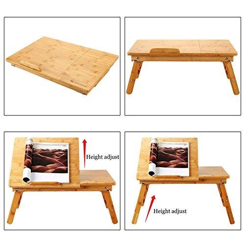 mesa para computadora portátil nnewvante mesa ajustable 100