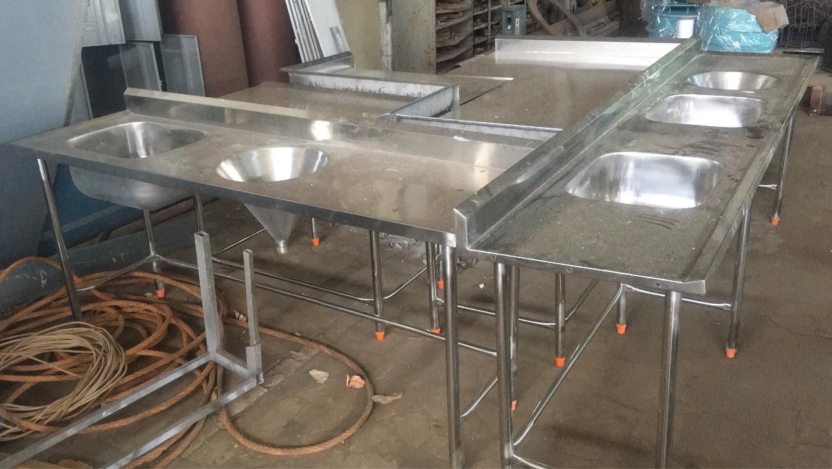Mesa Inox Para Cozinha Industrial Conjunto R 6 800 00 Em