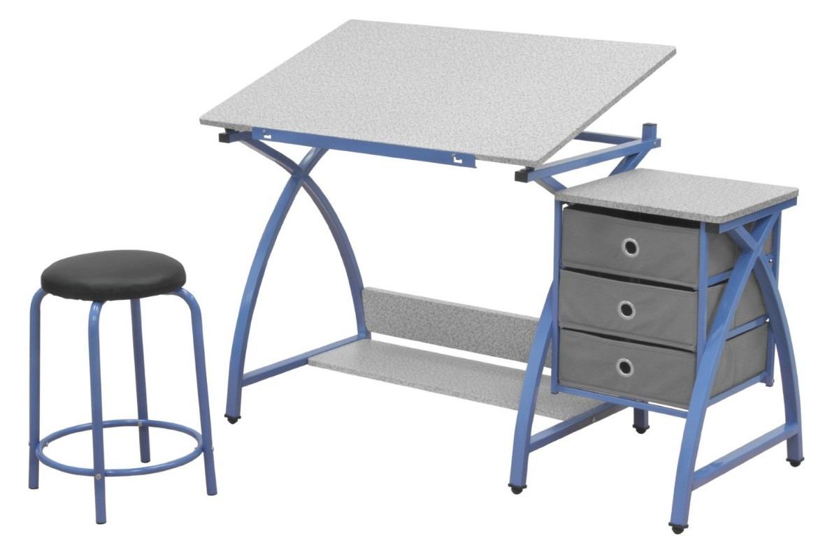 Mesa para dibujo artistico con silla escritorio dibujar for Sillas para dibujar facil