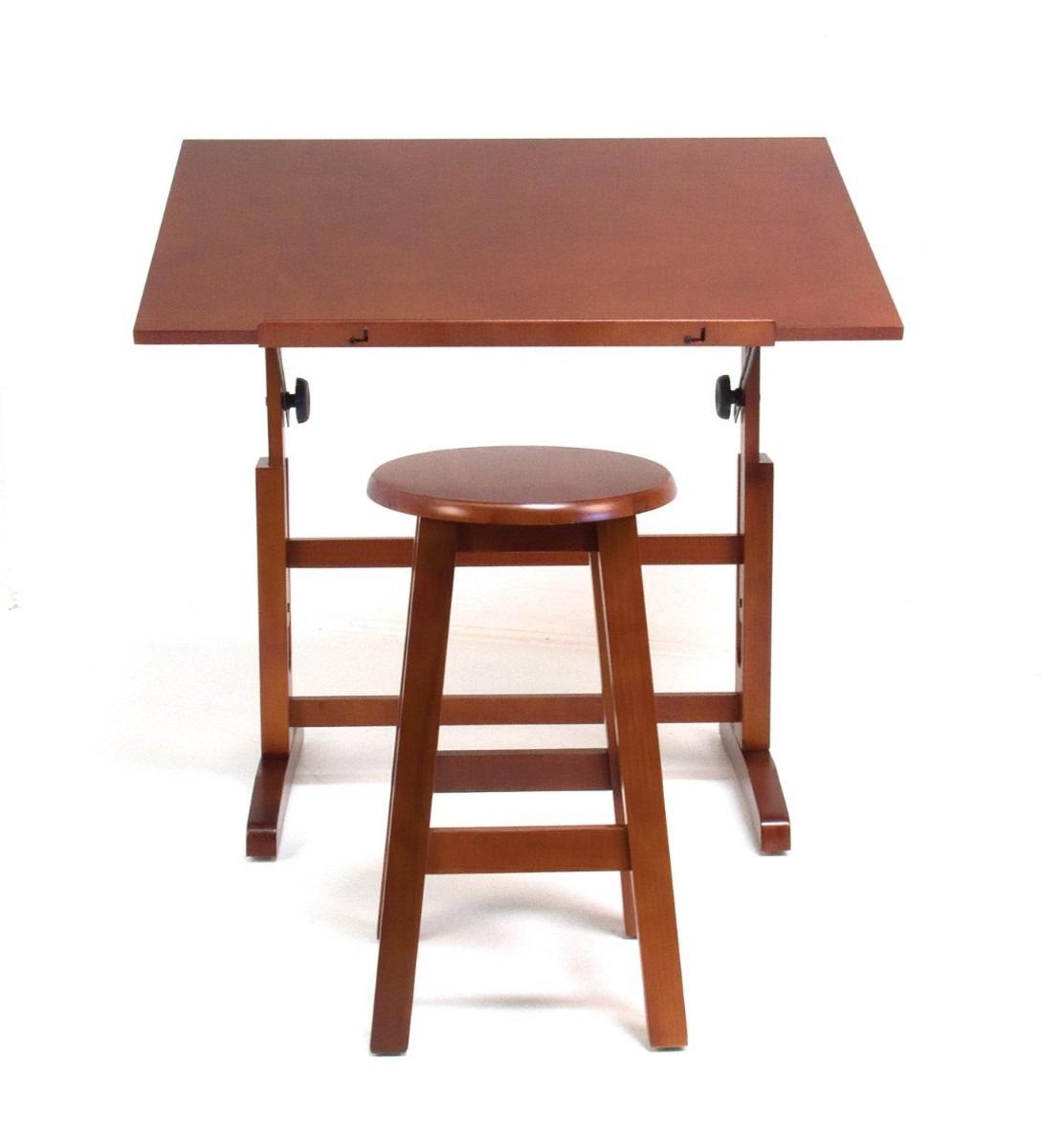 Mesa para dibujo artistico con silla escritorio dibujar vbf 3 en mercado libre - Mesa de dibujo para arquitectura ...