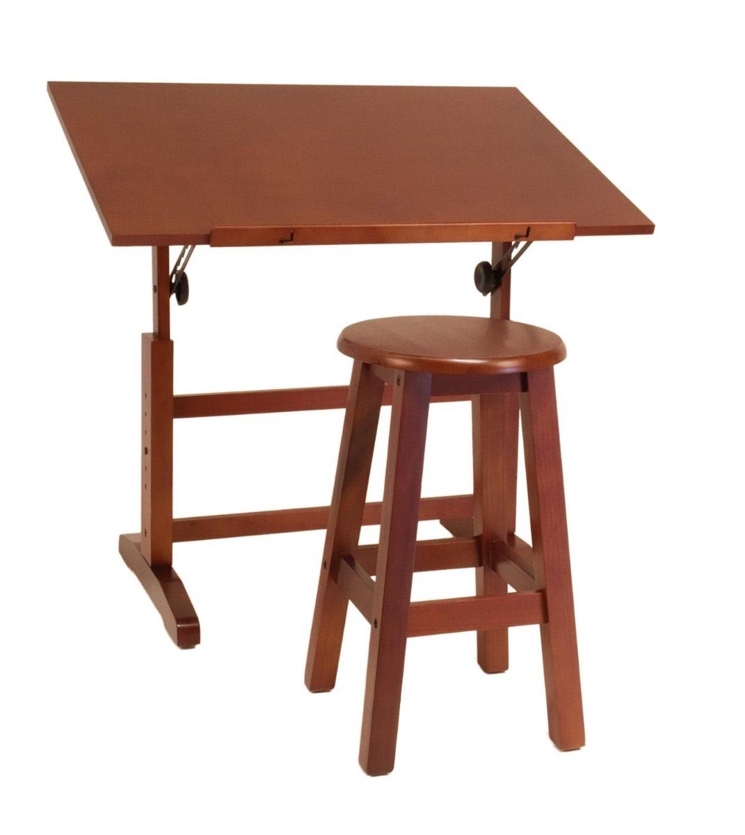 Mesa para dibujo artistico con silla escritorio dibujar vbf 3 en mercado libre - Mesas de dibujo ...