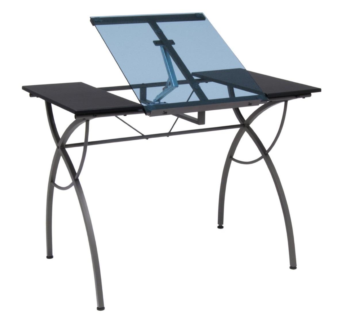 Mesa para dibujo cristal escritorio dibujar ajustable vbf for Mesas de dibujo baratas