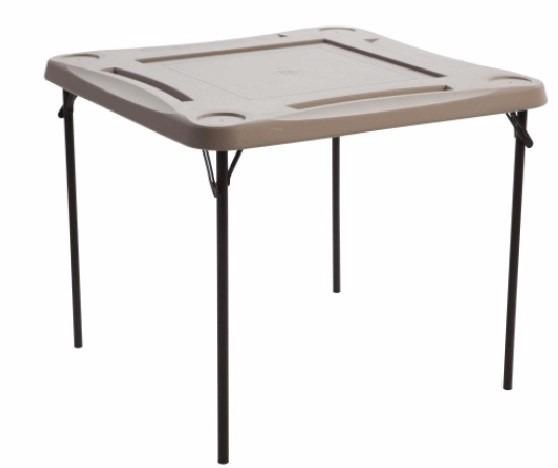 Mesa para domino lifetime lifetime mesa plegable mesa for Mesa plegable lifetime