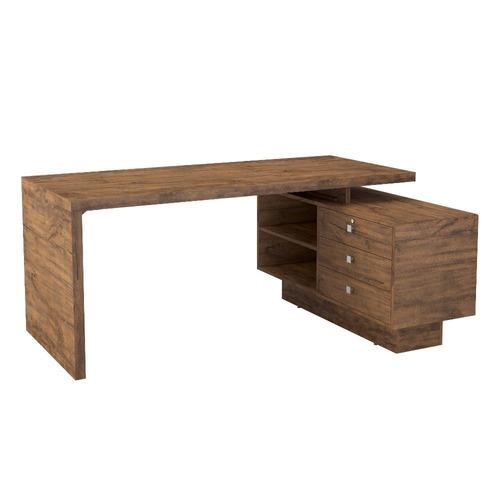 mesa para escritório dalla costa tc141 - nobre