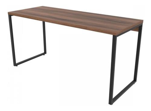 mesa para escritório diretor estilo industrial 1,50m jg