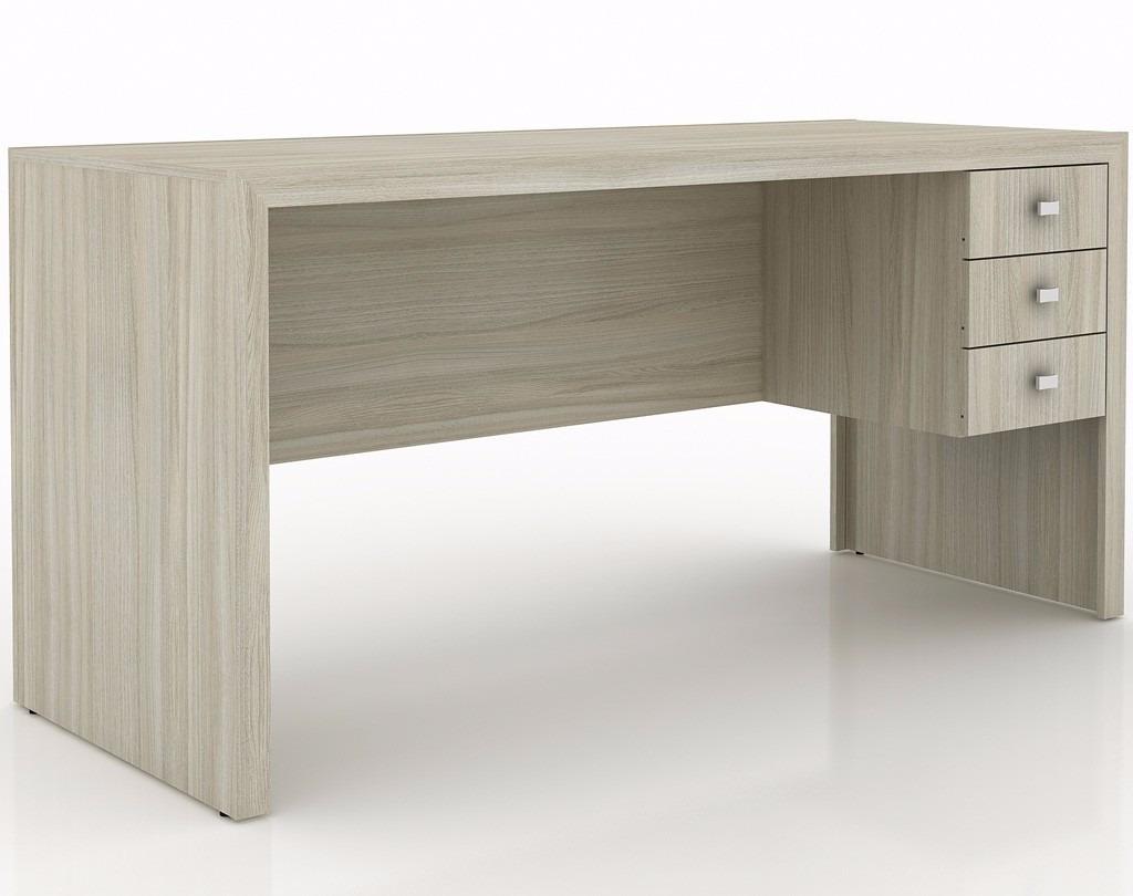 Mesa para escrit rio me4113 tabaco tecno mobili r 299 - Mesa para escritorio ...