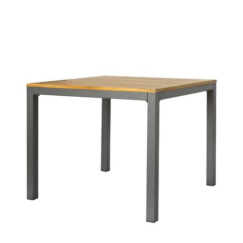mesa para exterior cubierta de teca - da535tk