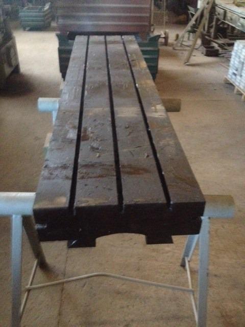 Mesa para fresadora ou centro de usinagem r em for Mesa para fresadora