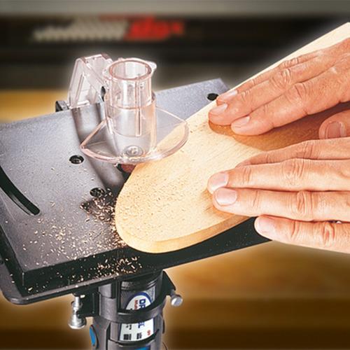 mesa para fresar dremel 231 200x150mm aditamento minitorno