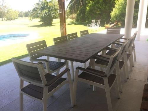 mesa para jardín,