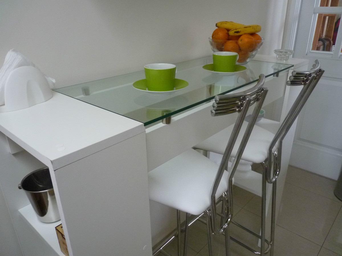 Mesa Para La Cocina, Comedor, Separador. Desayunador - $ 2.300,00 en ...
