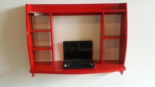 mesa para laptop, mini laptops y tablet en colores acrílicos