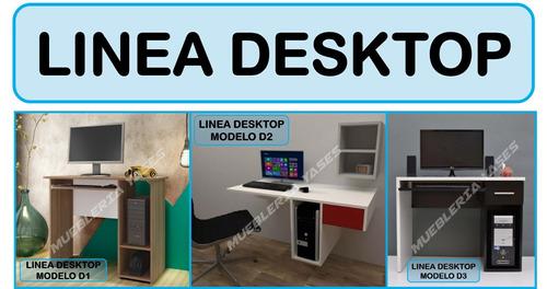 mesa para laptop niveles moderna minimalista flotante l2