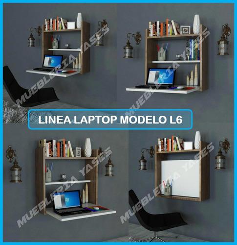 mesa para laptop niveles moderna minimalista flotante l6