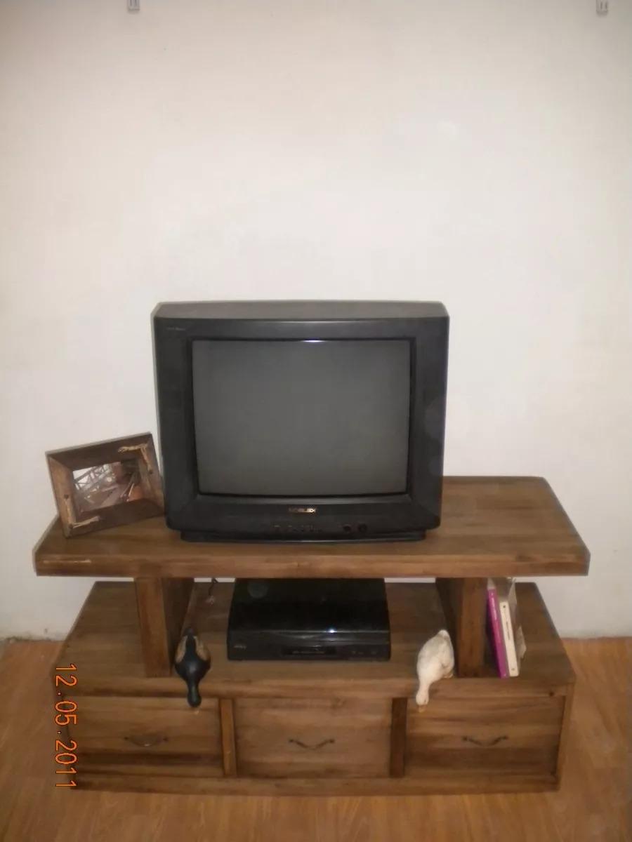 Mesa para lcd tv plasma 32 40 pulgadas de madera maciza for Mesa para tv de 50 pulgadas