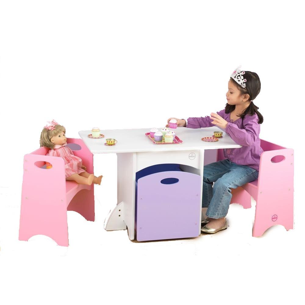 Mesa para ni as para actividades recreativas de juego vbf for Mesas y sillas para ninas