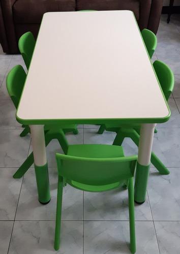mesa para niños importada altura regulable áreas educativas.