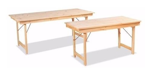 mesa para para exterior