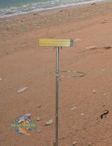 mesa para pesca de playa