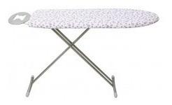 mesa para planchar barata acolchada con patas en aluminio
